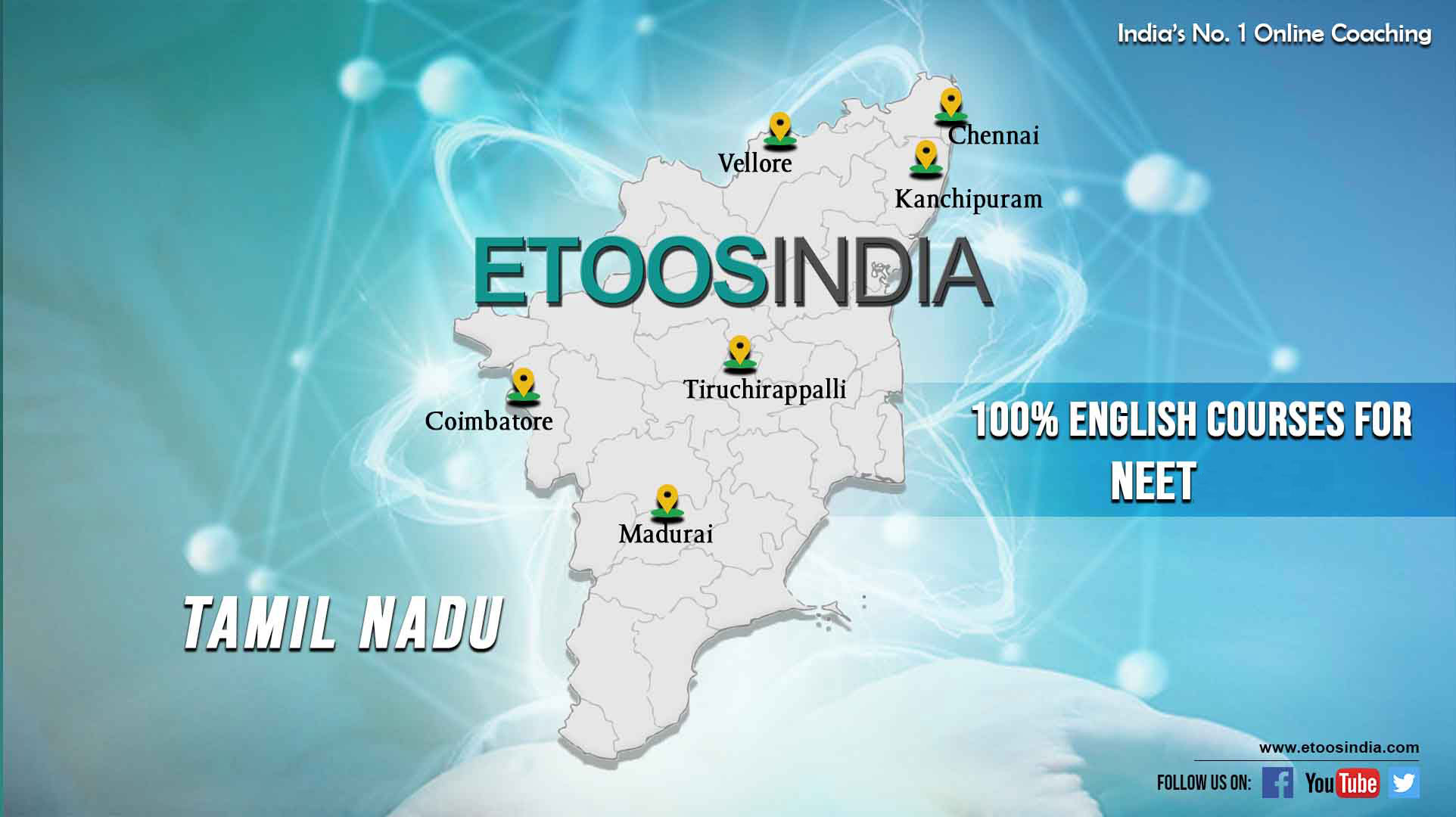 New Courses in Complete English for NEET Aspirants in Tamil Nadu.